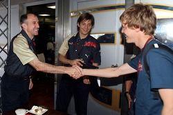 Sebastian Vettel, Scuderia Toro Rosso ve Franz Tost, Scuderia Toro Rosso, Takım Patronu