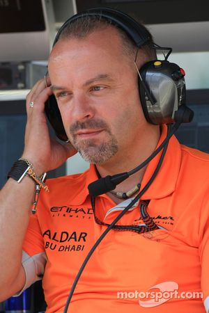 Mike Gascoyne, directeur technique Spyker F1 Team