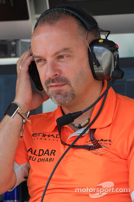 Mike Gascoyne, directeur technique Spyker F1 Team