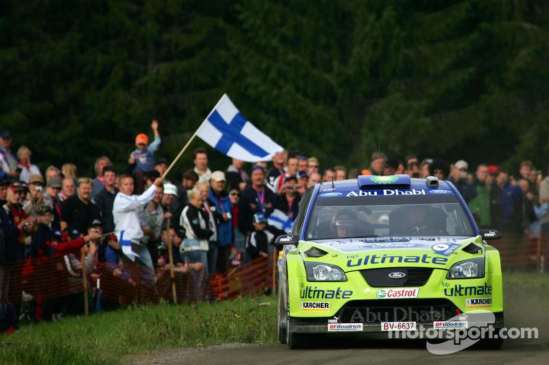 13. Rally de Finlandia 2007: 121,85 km/h