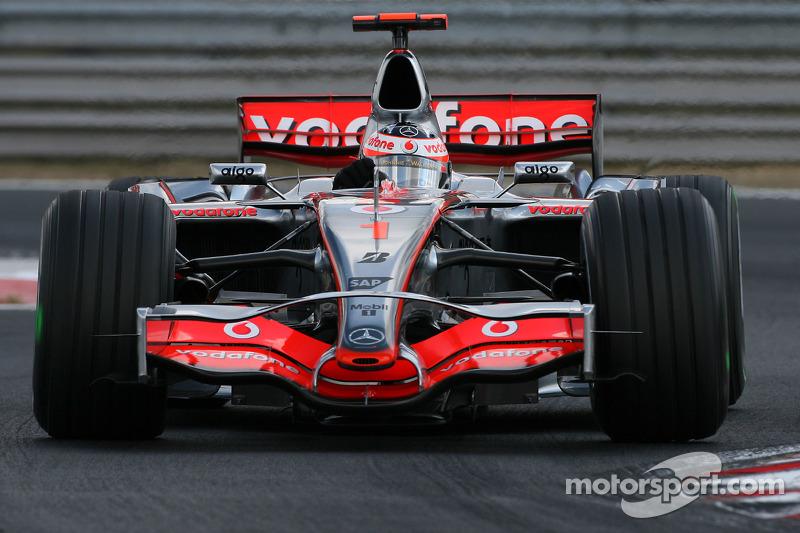 Fernando Alonso, McLaren Mercedes at Hungarian GP