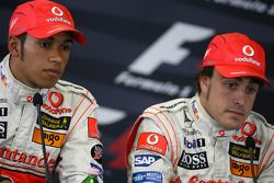 Qualifying press conference: pole winner Fernando Alonso, second Lewis Hamilton