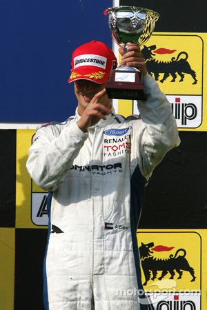 Podium: third place Andreas Zuber
