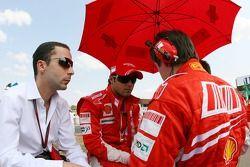 Felipe Massa, Ferrari Scuderia, Nicholas Tombazis, Scuderia Ferrari, jefe de diseño, Rob Smedly, Scu