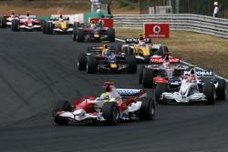 Ralf Schumacher, Toyota Racing, Robert Kubica, BMW Sauber F1 Team