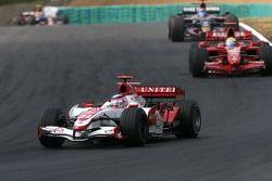Takuma Sato, Super Aguri F1 Team, Felipe Massa, Scuderia Ferrari