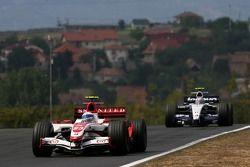 Anthony Davidson, Super Aguri F1 Team, Alexander Wurz, Williams F1 Team