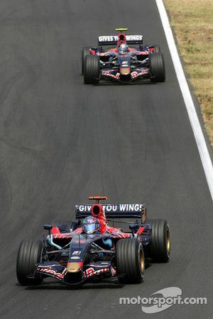 Vitantonio Liuzzi, Scuderia Toro Rosso, Sebastian Vettel, Scuderia Toro Rosso