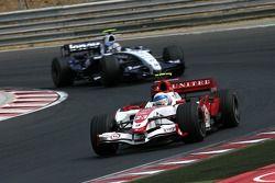 Anthony Davidson, Super Aguri F1 Team. Alexander Wurz, Williams F1 Team