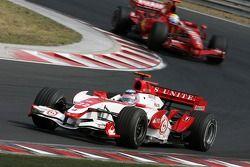 Takuma Sato, Super Aguri F1, Felipe Massa, Scuderia Ferrari