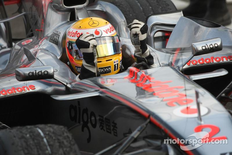 Переможець Льюіс Хемілтон, McLaren-Mercedes