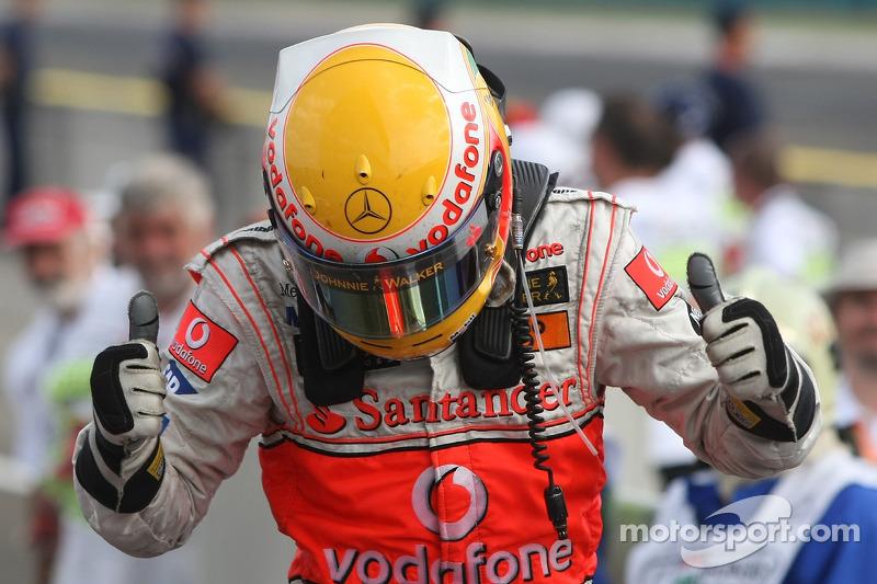Lewis Hamilton, ganador del GP de Hungría 2007