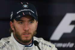 Press conference: third place Nick Heidfeld