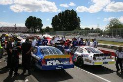 Voitures NASCAR Busch Series après les qualifications