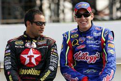 Juan Pablo Montoya et Kyle Busch