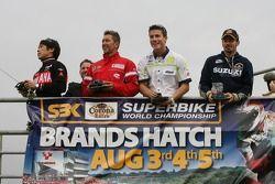 Course moto télécommandé: Noriyuki Haga, Troy Bayliss, James Toseland, Max Biaggi
