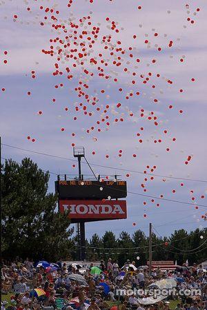Départ course Superbike Ballons
