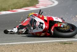 Accident pour Troy Bayliss