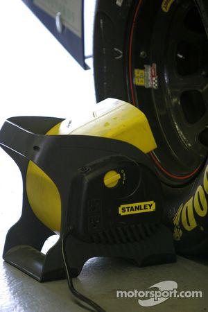 Une journée chaude + Circuit Gilles-Villeneuve= Dispositifs de refroidissement des freins