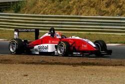 #24 Filip Salaquarda CZE HBR Motorsport Dallara F306 Mercedes HWA