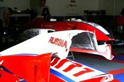 Le russe Sergey Afanasiev, le tchèque Filip Salaquarda et l'équipe de Macao Rodolfo Avila HBR Motorsport
