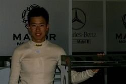 Smiling Cheng Cong Fu, being promoted from the British national class to Manor Motorsport for this e