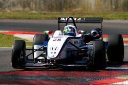 #28 Francesco Castellacci ITA Alan Docking Racing Dallara F307 Mugen-Honda