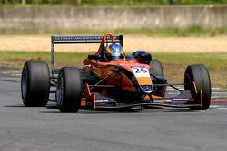 2ème dans le groupe plus lent, # 26 Esteban Guerrieri ARG ultime Motorsport Mercedes HWA Mygale