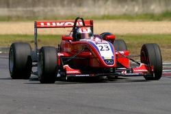 3ème, #23 Sergey Afanasiev RUS HBR Motorsport Dallara F305 Mercedes HWA