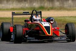 #31 Ricardo Teixeira ANG Performance Racing Europe Dallara F307 Mugen-Honda