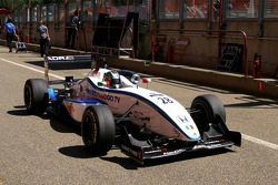 #28 Francesco Castellacci ITA Alan Docking Racing Dallara F307 Mugen-Honda