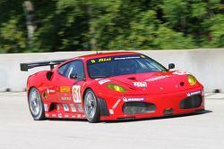 #61 Risi Competizione Ferrari 430 GT: Gianmaria Bruni, Eric Hélary