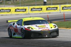 #31 Petersen White Lightning Ferrari 430 GT: Peter Dumbreck, Dirk Muller
