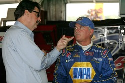 NASCAR President Mike Helton and Terry Labonte