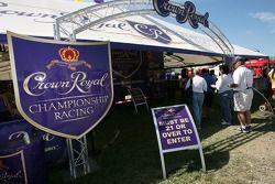 zone des fans à Crown Royal