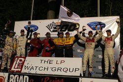 Le podium: les gagnants
