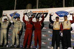 Le podium: LM GT2