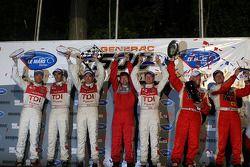 Le podium: LM P1