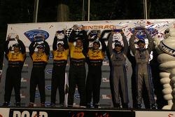 The podium: LM P2