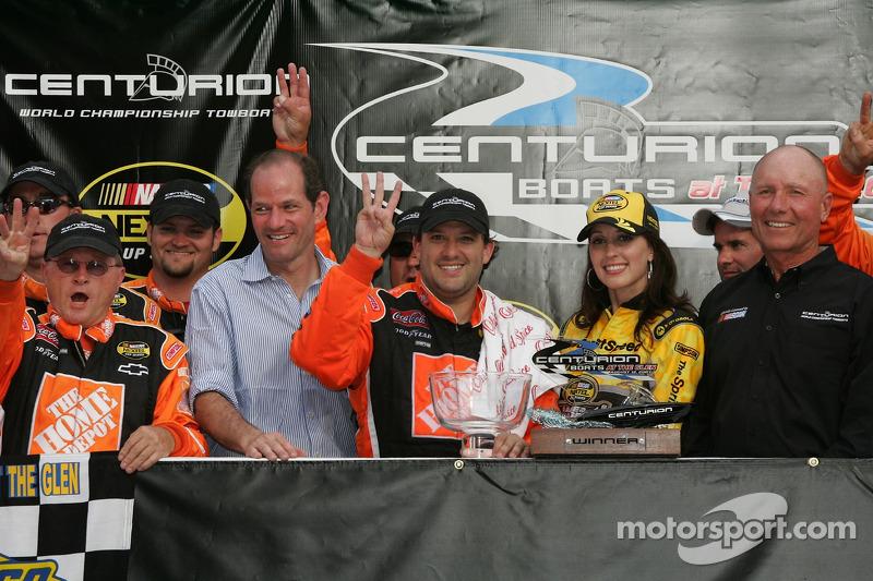 2007, Watkins Glen: Tony Stewart (Gibbs-Chevrolet)