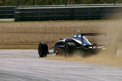 On the way to some fast incursion into the gravels: #8 James Jakes (Manor Motorsport)