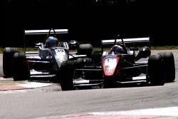 #12 Tim Sandtler GER Jo Zeller Racing Dallara F306 Mercedes HWA, #39 Maro Engel GER Carlin Motorsport Dallara F307 Mercedes HWA