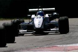 Tire to tire… #29 John Martin AUS Alan Docking Racing Dallara F307 Mugen-Honda