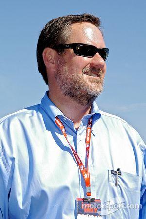 Rick Klein sur la grille de départ