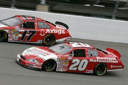 Denny Hamlin and Matt Kenseth