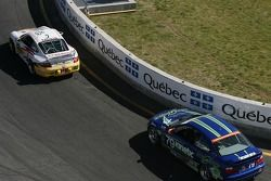 #82 BRG / Group 88 Motorsports Porsche 997: Jean-François Dumoulin, Louis-Philippe Dumoulin, Michael Vong, #79 Kinetic Motorsports BMW M3: Shawn Prix, Nic Jonsson