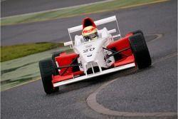 #20 Doru Secheriu (ROM) Fortec Motorsport Formula BMW FB2