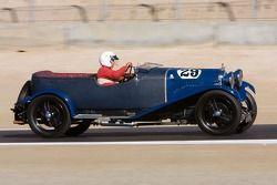 Graham Wallis, 1929 Lagonda 2 L