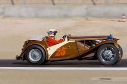 Al Moss, Sedona, 1948 MG TC