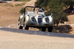 Mike Heffernan, 1954 Jaguar XK-12